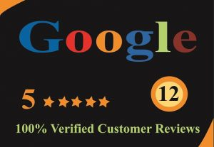 I will provide 5 stat 12 Google reviews for you.