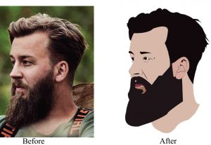 I will Design Vector art of you photo & anything you want